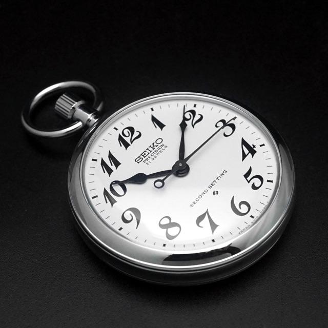 セイコー 鉄道時計 Cal.6310 懐中時計 デッドストック アンティークウオッチ