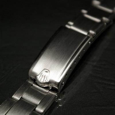 ロレックス 3連 リベットブレス 19mm 美品