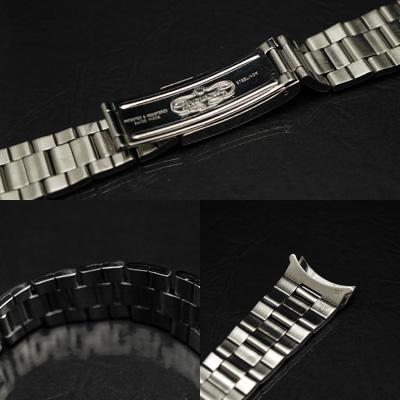 ロレックス 3連 巻き込みブレス 19mm