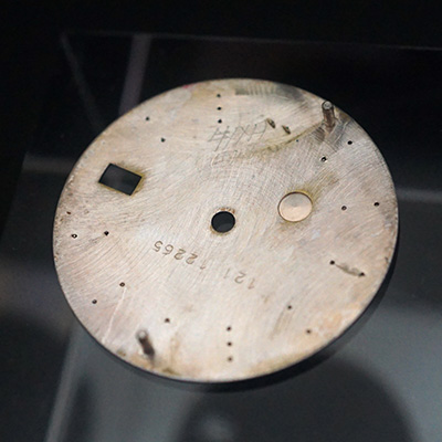 ロレックス オイスターパーペチュアル デイト 青文字盤