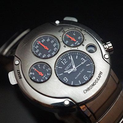 セイコー スポーチュラ キネティッククロノグラフ 1stモデル SBXZ00 1,000本限定